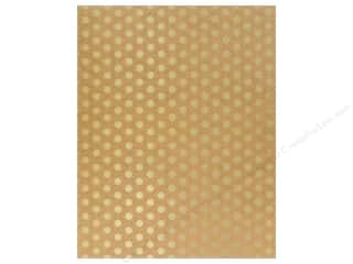 American Crafts Poster Shop 22 x 28 in. Poster Board Kraft with Gold Foil Dots