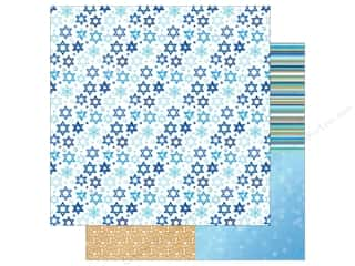 scrapbooking & paper crafts: Photo Play Hanukkah Paper 12 in. x 12 in.  Shine Bright (25 pieces)