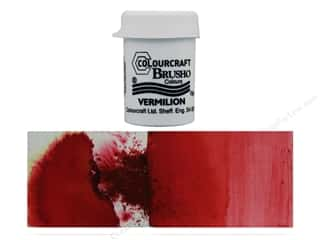 Colourcraft Brusho Crystal Colour 15 gr Vermilion