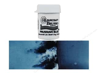 craft & hobbies: Colourcraft Brusho Crystal Colour 15 gr Prussian Blue
