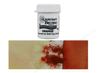 craft & hobbies: Colourcraft Brusho Crystal Colour 15 gr Orange