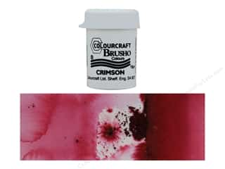 Colourcraft Brusho Crystal Colour 15 gr Crimson
