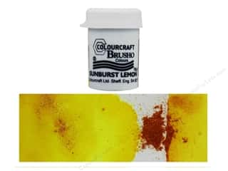 craft & hobbies: Colourcraft Brusho Crystal Colour 15 gr Sunburst Lemon