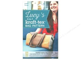 books & patterns: Stash By C&T Lucy's 3 in 1 Kraft Tex Bag Pattern