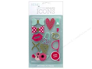 projects & kits: DieCuts With A View With A View Collection Letterboard Icons Boss Lady