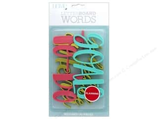 DieCuts With A View With A View Collection Letterboard Words Planning