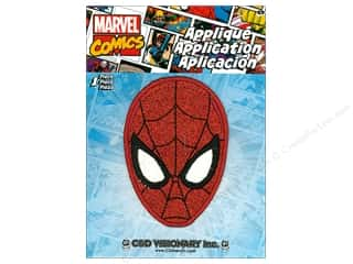 C&D Visionary Applique Spiderman Mask Glitter