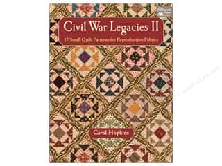 books & patterns: That Patchwork Place Civil War Legacies II Book by Carol Hopkins