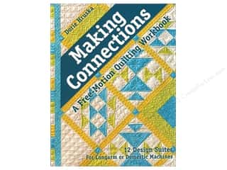 books & patterns: C&T Publishing Making Connections Free Motion Quilting Workbook