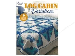 Clearance: Annie's Log Cabin Variations Book