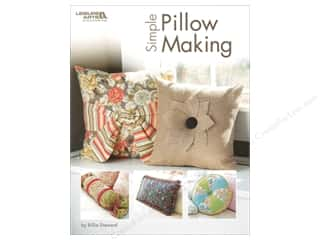 burlap: Leisure Arts Simple Pillow Making Book