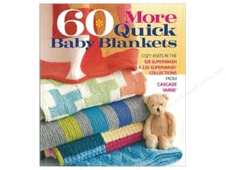 books & patterns: Sixth & Spring 60 More Quick Baby Blankets Book