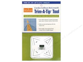 ruler: C&T Publishing Fast2Cut Templates Trim A Tip Tool