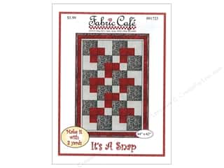 books & patterns: Fabric Cafe It's A Snap 3 Yard Quilt Pattern