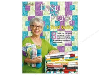 books & patterns: Fabric Cafe Easy Peasy 3 Yard Quilts Book