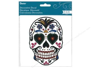 scrapbooking & paper crafts: Darice Decorative Decal Day Of The Dead Multi