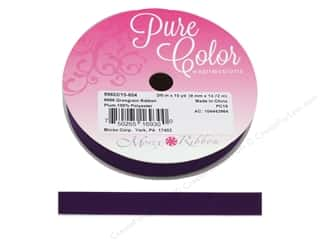 Morex Ribbon Grosgrain 3/8 in. x 15 yd Plum