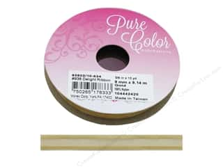 ribbon: Morex Ribbon Delight 3/8 in. x 10 yd Gold