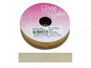 Morex Ribbon Organdy 5/8 in. x 20 yd Gold