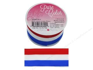 craft & hobbies: Morex Ribbon Wire Liberty 1.5 in. x 3 yd Red/White/Blue