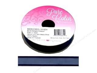 Morex Ribbon Delight 5/8 in. x 10 yd Navy Blue