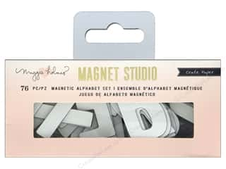 Crate Paper Maggie Holmes Magnet Studio Magnetic Alpha Small White