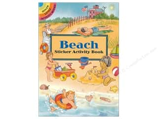 scrapbooking & paper crafts: Dover Publications Little Beach Sticker Activity Book