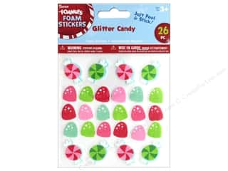 craft & hobbies: Darice Foamies Sticker Glitter Gum Drops