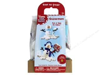 projects & kits: Darice Foamies Activity Kit Snowman 6pc