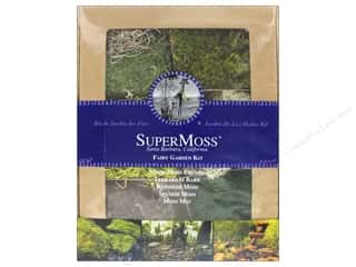 SuperMoss Floral Moss Fairy Garden Kit 4 oz