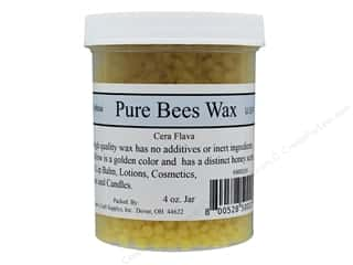 Crafty Bubbles Pure Bees Wax 4 oz Jar