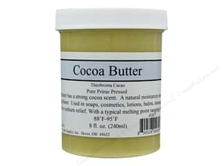 Crafty Bubbles  Cocoa Butter 8 oz Jar