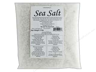 craft & hobbies: Crafty Bubbles  Sea Salt 3 lb Bag