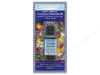 craft & hobbies: Crafty Bubbles Essential Oil .5 oz Eucalyptus