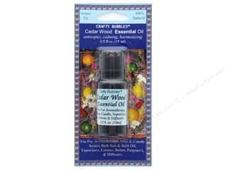craft & hobbies: Crafty Bubbles Essential Oil .5 oz Cedar Wood