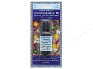 craft & hobbies: Crafty Bubbles Essential Oil .5 oz Citronella