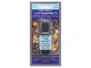 craft & hobbies: Crafty Bubbles Essential Oil .5 oz Lime