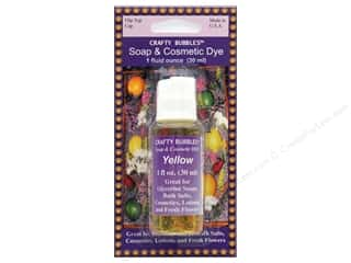 Crafty Bubbles Soap & Cosmetic Dye 1 oz Yellow