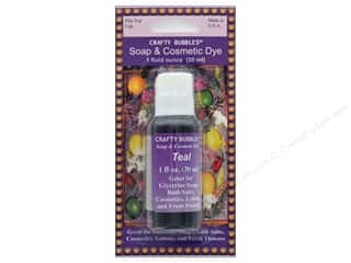 craft & hobbies: Crafty Bubbles Soap & Cosmetic Dye 1 oz Teal