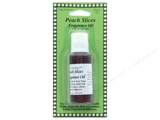 candle scent oil: Crafty Bubbles Fragrance Oil 1 oz Peach Slices