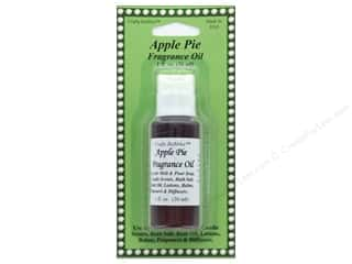 candle scent oil: Crafty Bubbles Fragrance Oil 1 oz Apple Pie