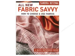 books & patterns: Taunton Press All New Fabric Savvy Book