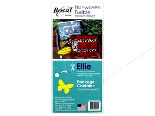 Bosal Interfacing Nonwoven Fusible Ellie 20 in. x 36 in. White