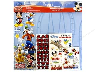 stickers: SandyLion 12 x 12 in. Page Kit Disney Mickey