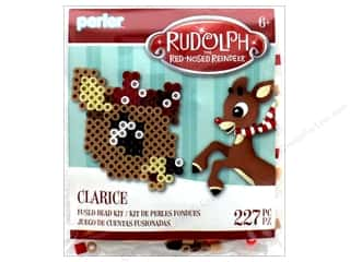 Perler Fused Bead Kit Trial Rudolph Red Nose Reindeer Clarice