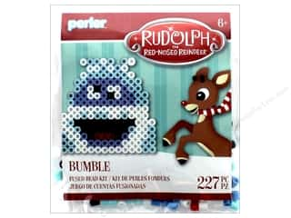 Perler Fused Bead Kit Trial Rudolph Red Nose Reindeer Bumble