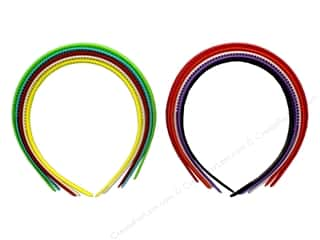 PA Essentials Headband 8 mm 5 pc Assorted Colors