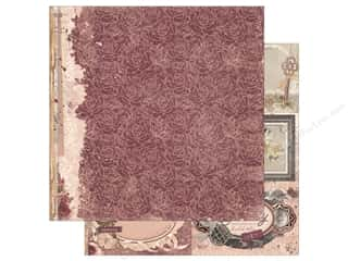 scrapbooking & paper crafts: Bo Bunny Collection Charmed Paper 12 in. x 12 in. Petals (25 pieces)