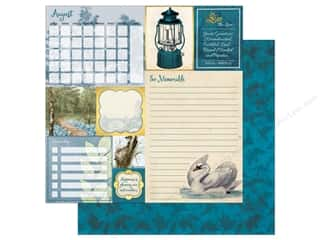 Bo Bunny On This Day Paper 12 in. x 12 in.  August (25 pieces)
