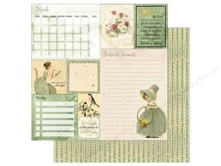 Bo Bunny On This Day Paper 12 in. x 12 in.  March (25 pieces)